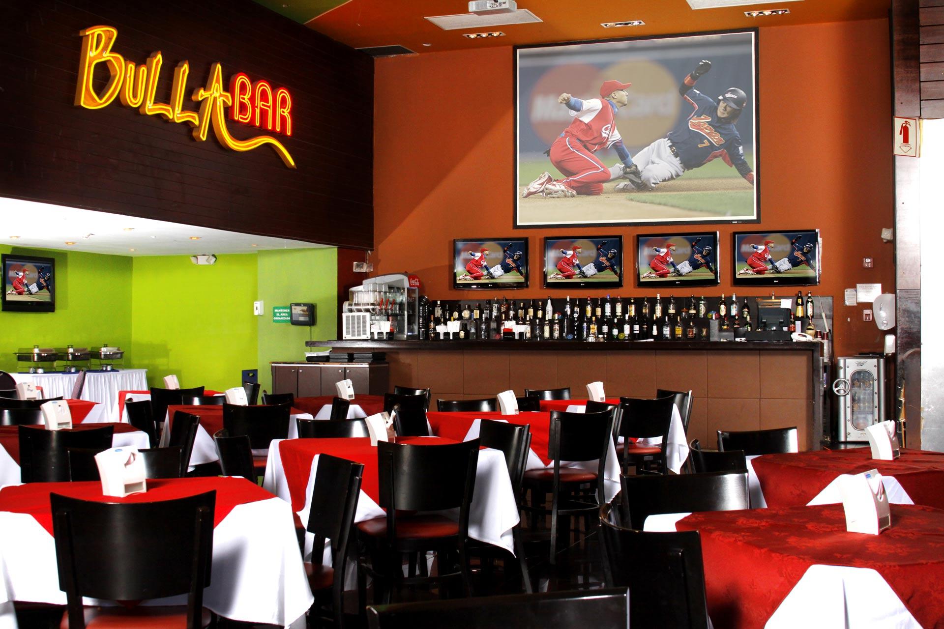 Bulla Bar restaurante Casino Majestic Panama city