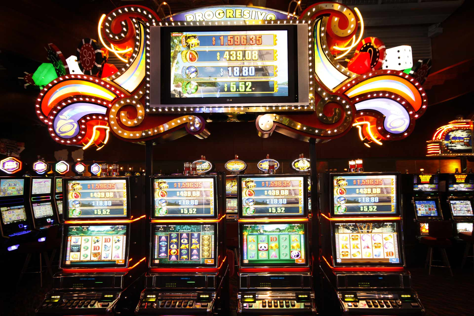 Slots progresivo Casino Majestic Panama City