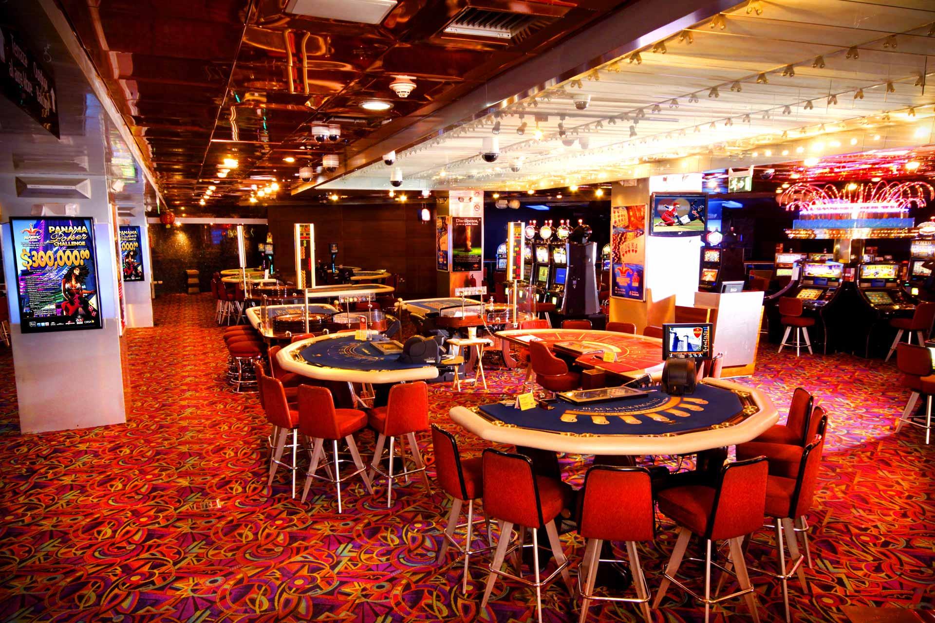 Sala juego Casino Majestic Panama city